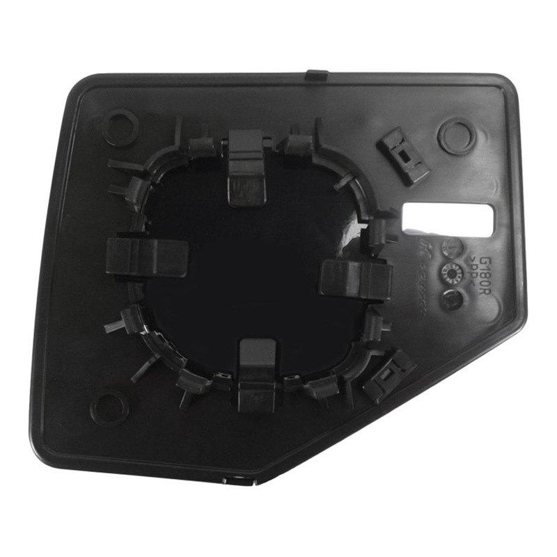 k source 80209 passenger side manual mirror glass non. Black Bedroom Furniture Sets. Home Design Ideas