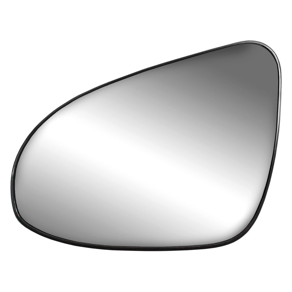 K Source 33281 Driver Side Mirror Glass With Backing Plate Heated