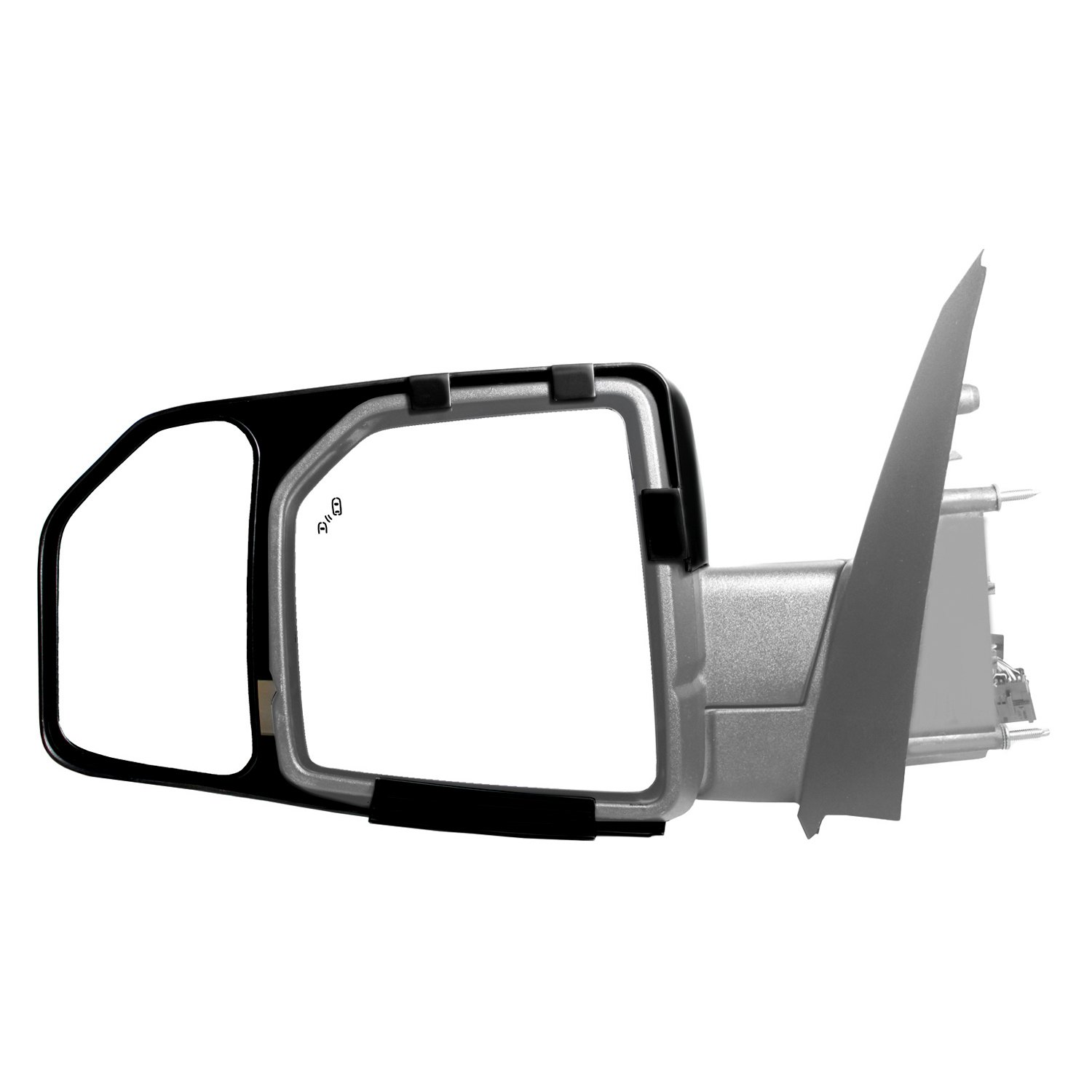 K source 81850 driver and passenger side towing mirrors for Mirror source