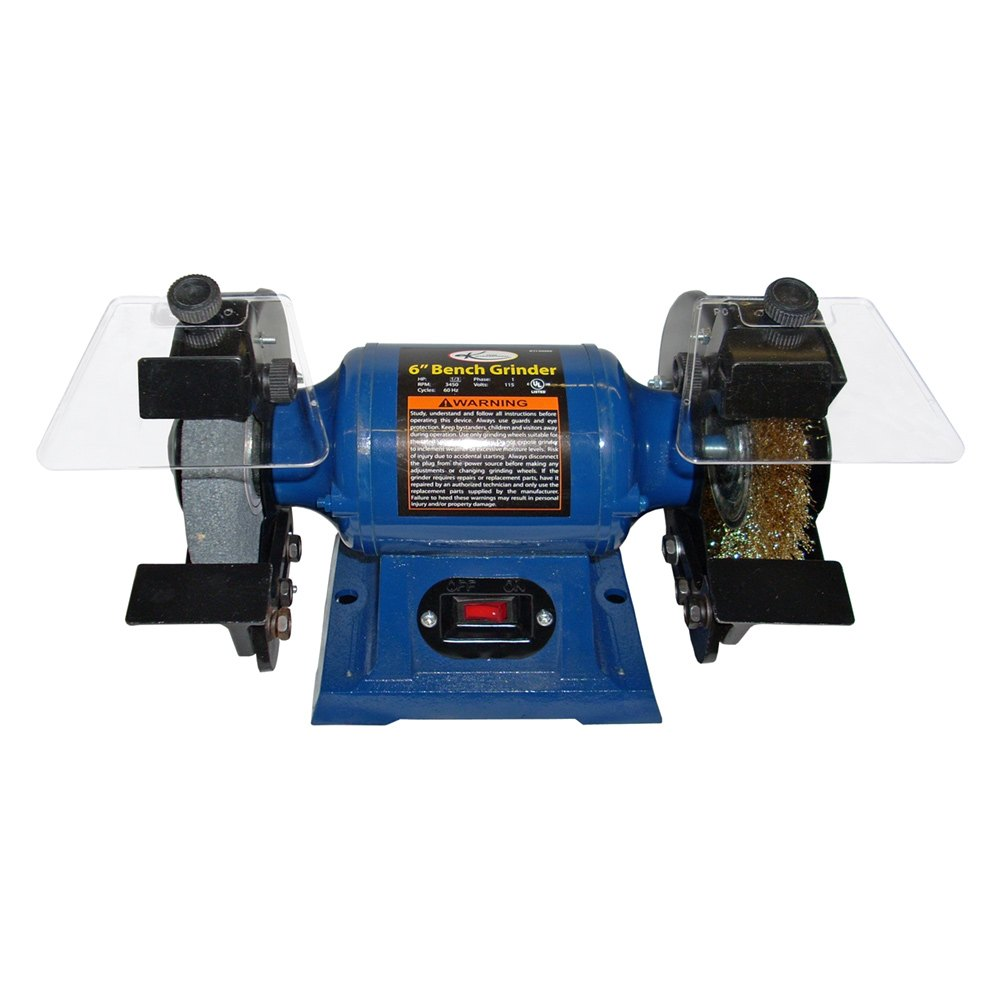 K Tool 174 60060 6 Quot Heavy Duty Bench Grinder Toolsid Com