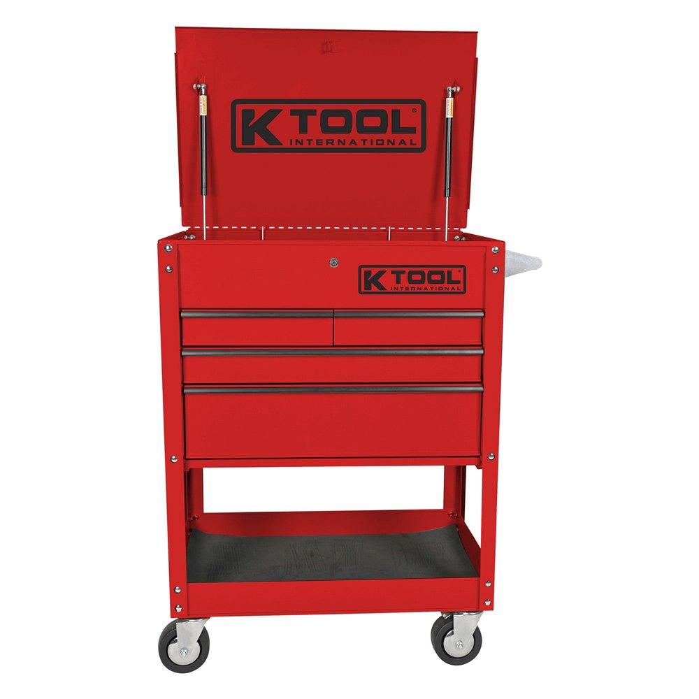 K Tool 174 75146 4 Drawer Locking Service Cart