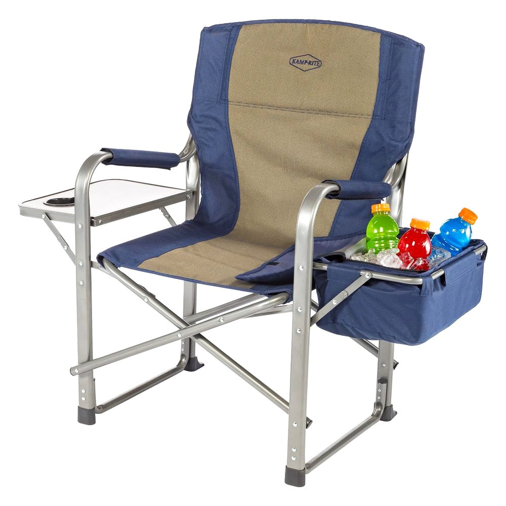Kamp Rite CC118 Director s Chair with Side Table and Cooler