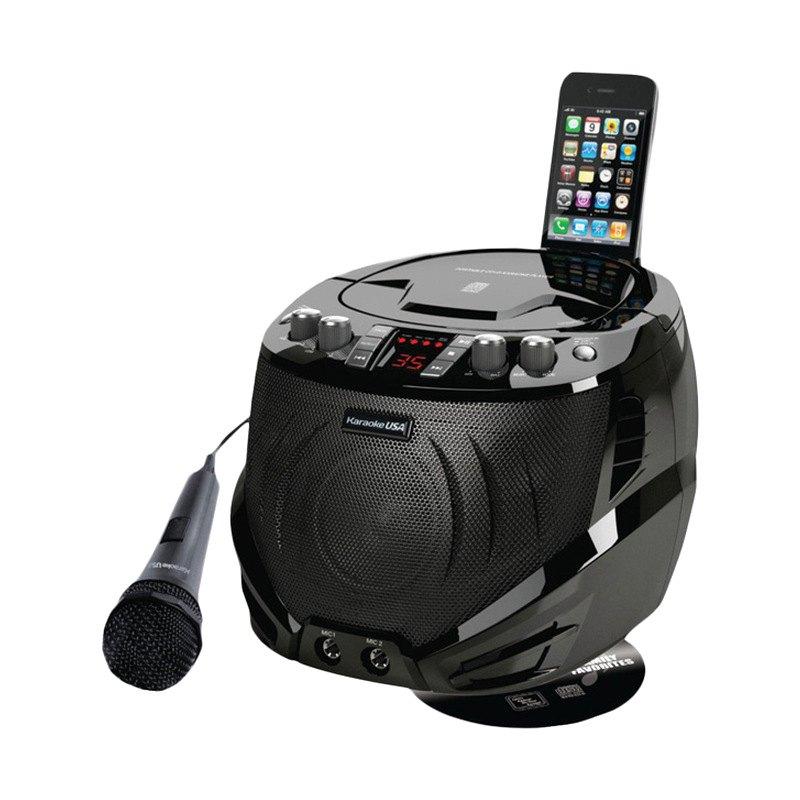 Karaoke USA? GQ262 - Portable Karaoke CDG Player