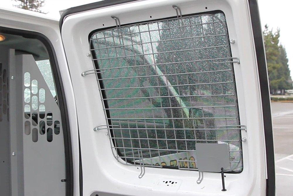 Kargo master 4072c hinged rear door security window screens for Back door with window and screen