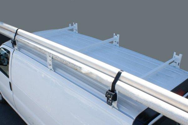 Kargo Master 174 40825 2 Crossbar White Utility Van Rack