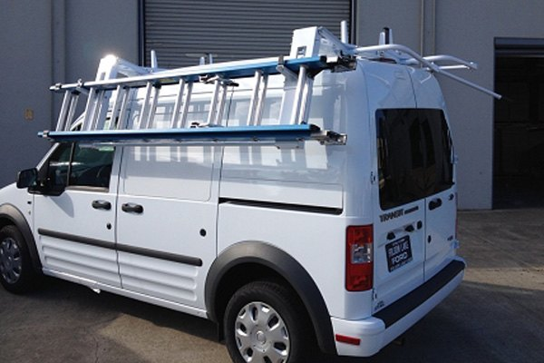 kargo master ez passenger side drop down van ladder rack