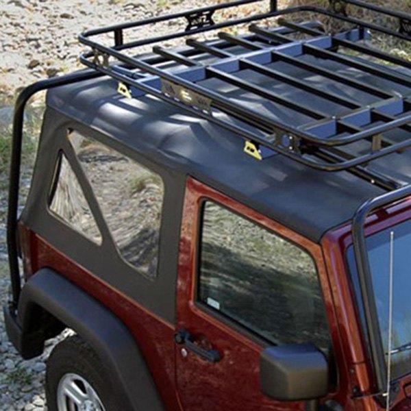 Kargo Master 174 Safari Black Steel Roof Rack Basket