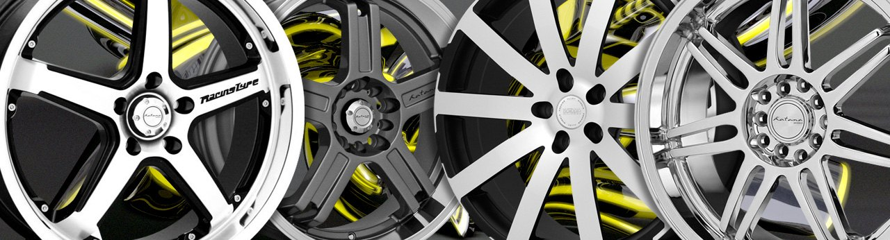 Universal KATANA WHEELS & RIMS