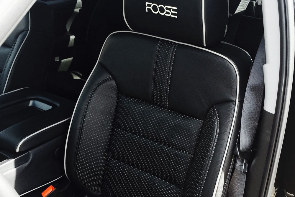 Black And White Seat Covers