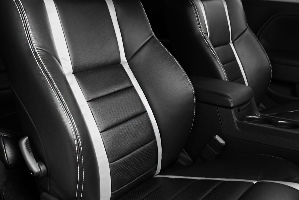 ... Black Upholstery Interior ...