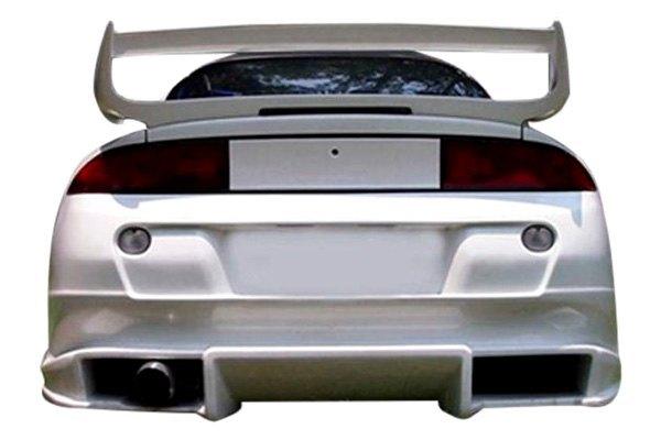 Kbd mitsubishi eclipse 1995 bomb style bumpers for Garage mitsubishi valence