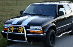 KC HiLiTES Lights on Chevy Blazer