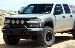 KC HiLiTES Lights on Chevy Colorado