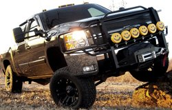 KC HiLiTES Lights on Chevy Silverado