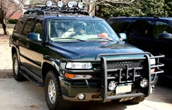 KC HiLiTES Lights on Chevy Tahoe