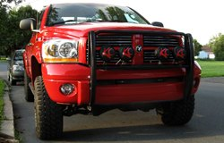 KC HiLiTES Lights on Dodge Ram