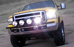 KC HiLiTES Lights on Ford F-250