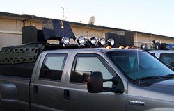 KC HiLiTES Lights on Ford F-350