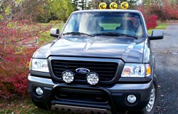 KC HiLiTES Lights on Ford Ranger