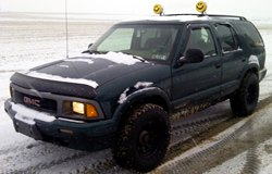 KC HiLiTES Lights on GMC Jimmy