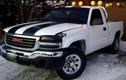 KC HiLiTES Lights on GMC Sierra