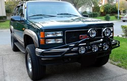 KC HiLiTES Lights on GMC Yukon