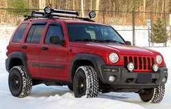KC HiLiTES Lights on Jeep Renegade