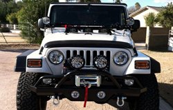 KC HiLiTES Lights on Jeep Wrangler