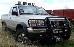 KC HiLiTES Lights on Nissan Frontier