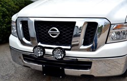 KC HiLiTES Lights on Nissan Navara