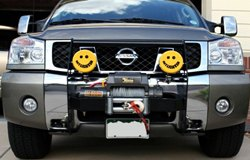 KC HiLiTES Lights on Nissan Titan