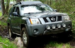 KC HiLiTES Lights on Nissan Xterra