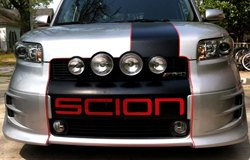 KC HiLiTES Lights on Scion xB