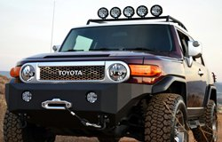 KC HiLiTES Lights on Toyota FJ Cruiser