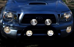 KC HiLiTES Lights on Toyota Tacoma