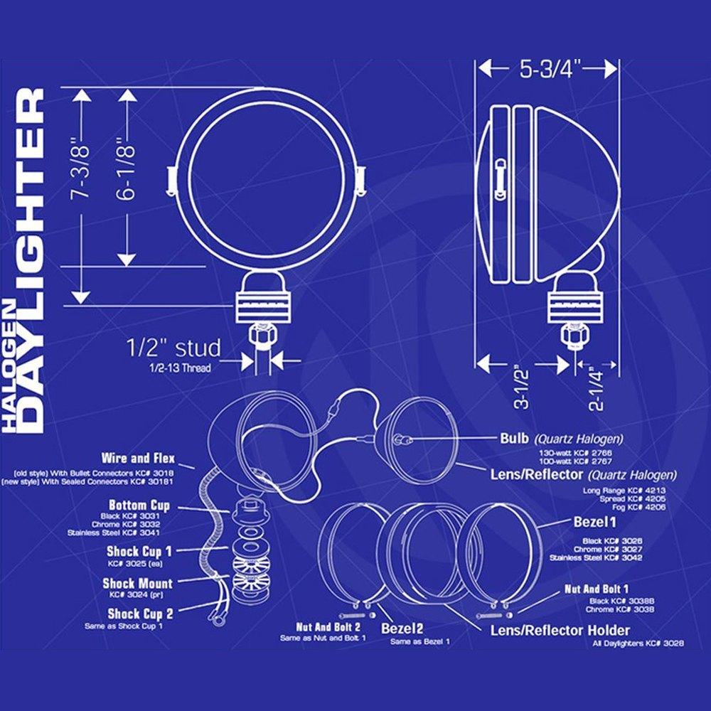 KC HiLiTES® 237 - Daylighter™ 6