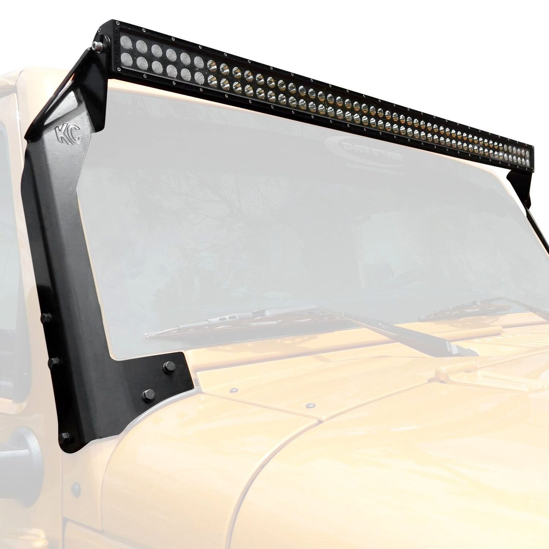 KC HiLiTES® 366 - Windshield Frame Mounted C-Series 50\