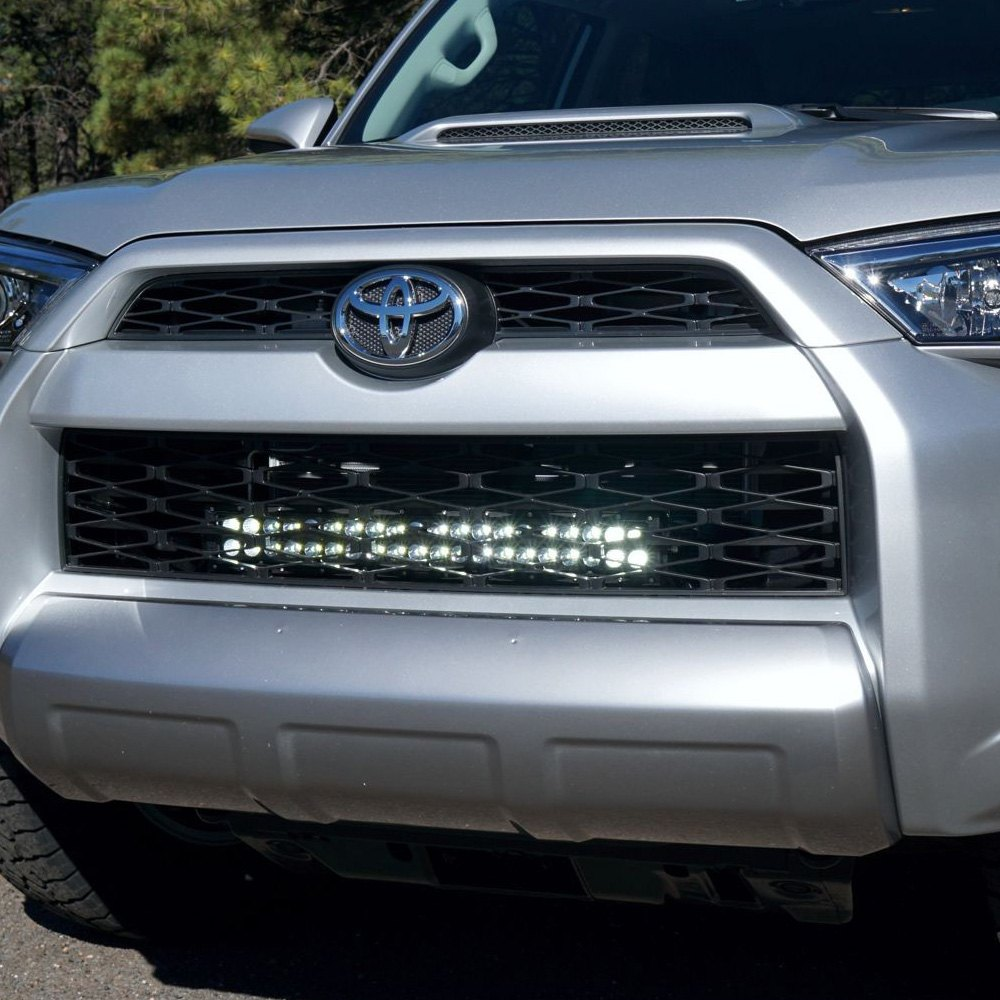 Kc hilites toyota 4runner 2014 grille mounted c series 20 120w kc hilites grille c series 20 120w dual row combo beam led mozeypictures Choice Image