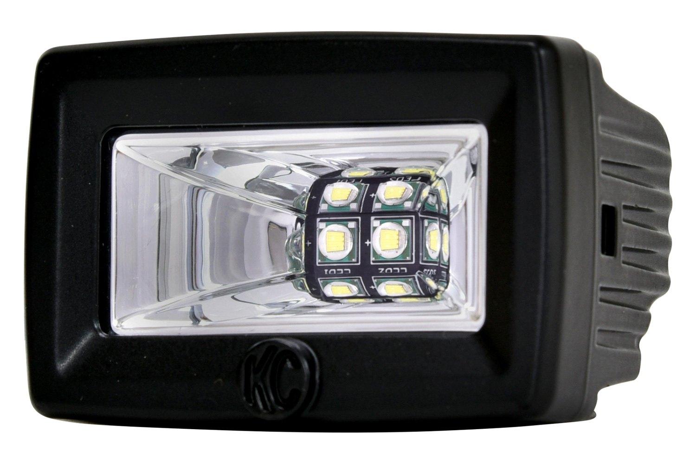Led Backup Lights >> Kc Hilites 519 C Series 3 2x20w Cube Flood Beam Led Backup Lights