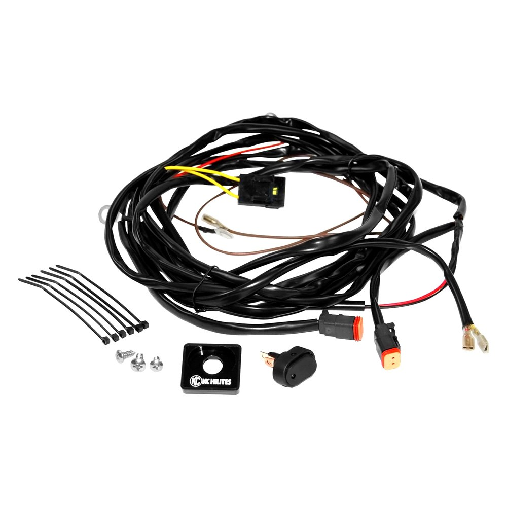 kc hilites 6308 wiring harness w 2