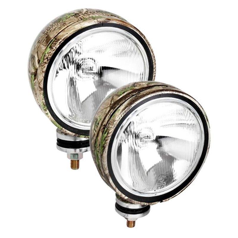 kc hilites® daylighter™ 6 round lights kc hilites® daylighter™ 6 2x100w round tree camo housing flood beam lights
