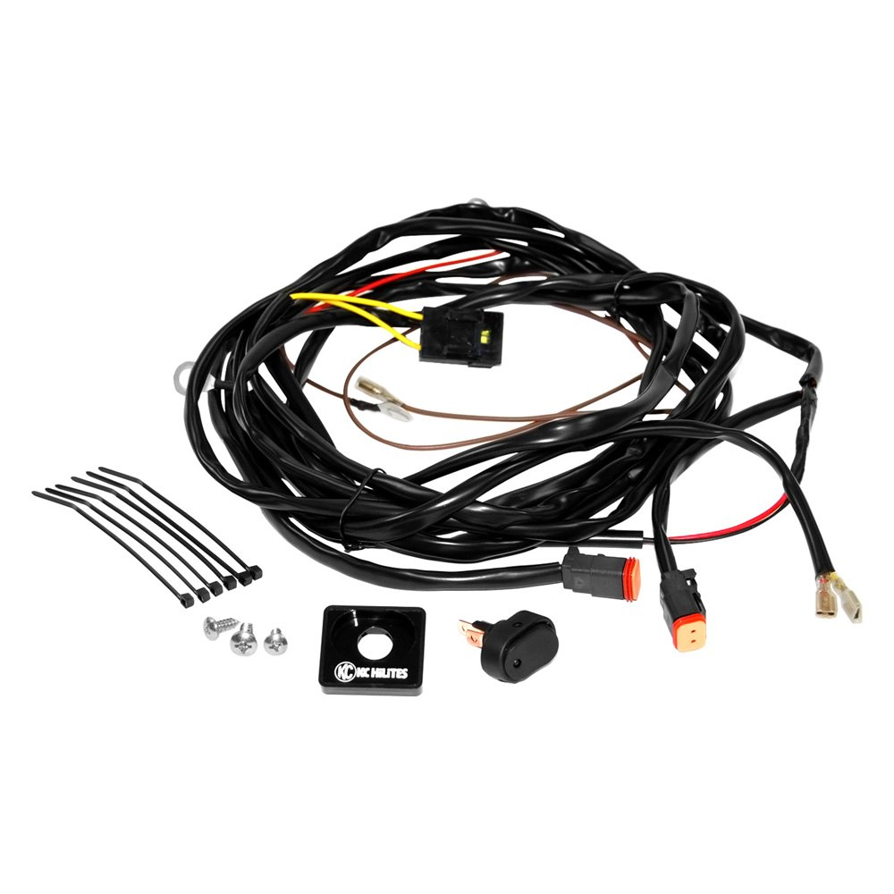 Kc Off Road Light Wiring Harness Diagram Hilites U00ae 6308 For Two Lights With 2 Led