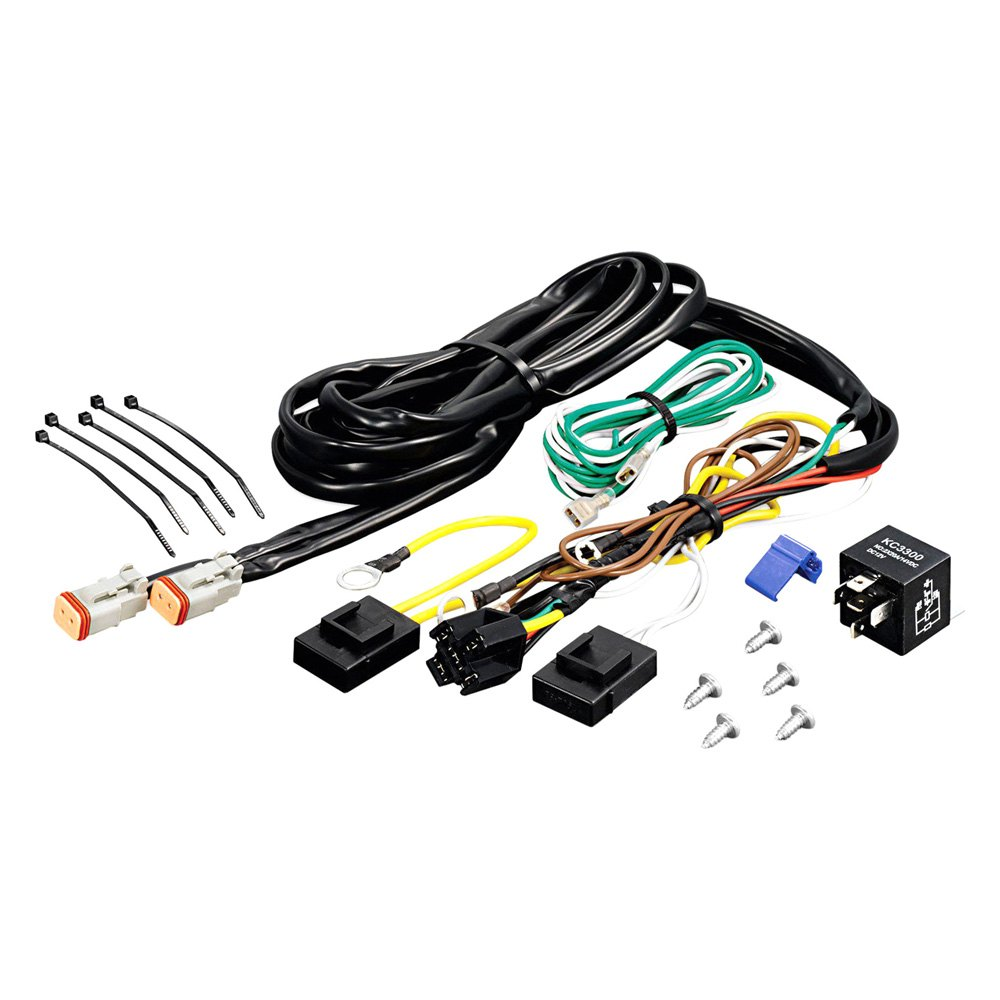 Kc Off Road Light Wiring Harness Diagram Kits Hilites U00ae 6316 Add On Relay Kit