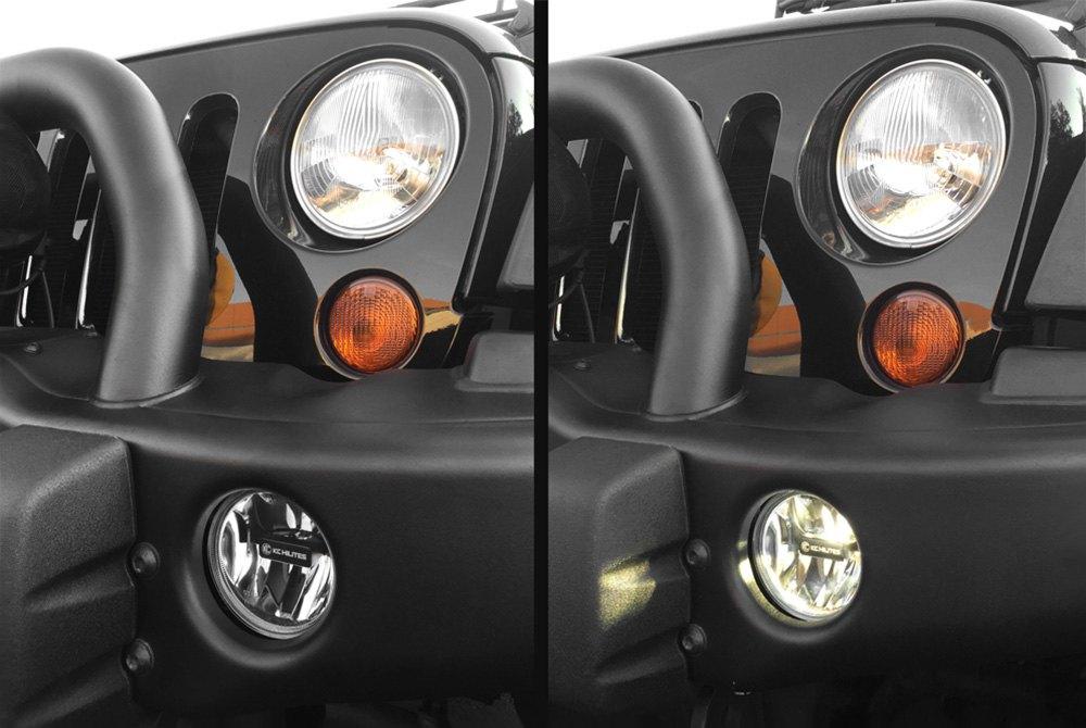 anyone try out the kc gravity 4 led fog light swap jeep rh wranglerforum com Installing KC Lights On Jeep KC Light Bar for Jeep Wrangler