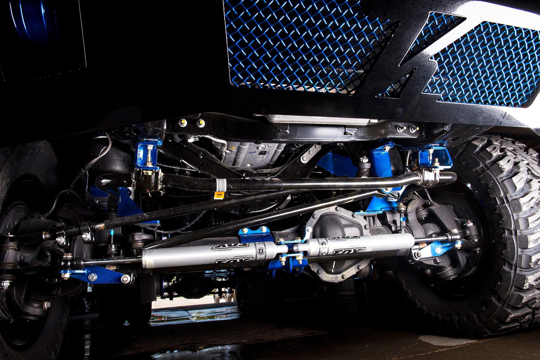 Kelderman® 16877 - Dual Steering Stabilizer Bracket