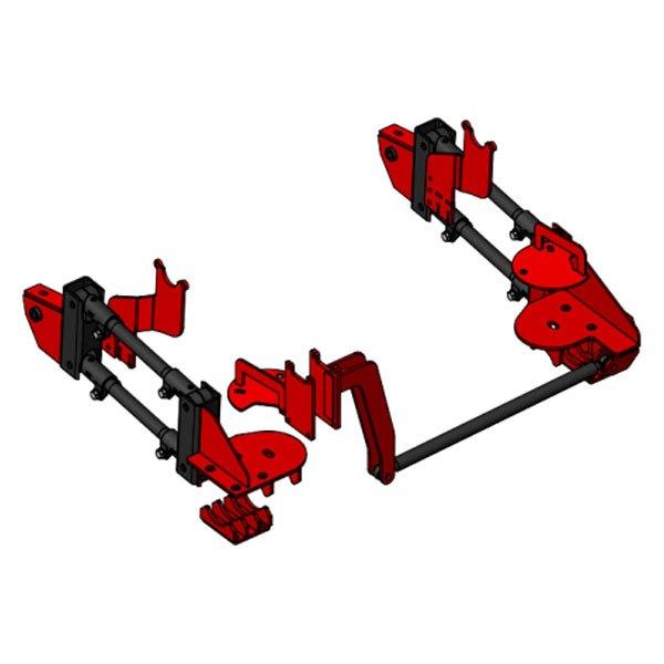 For Ram 3500 2013-2018 Kelderman D4R4-3-X-13 Rear 4-Link Air Suspension System   eBay