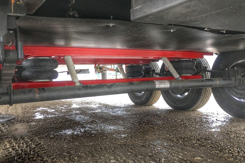 Trailer Air Bags : Kelderman klm leaf spring axle trailer air suspension