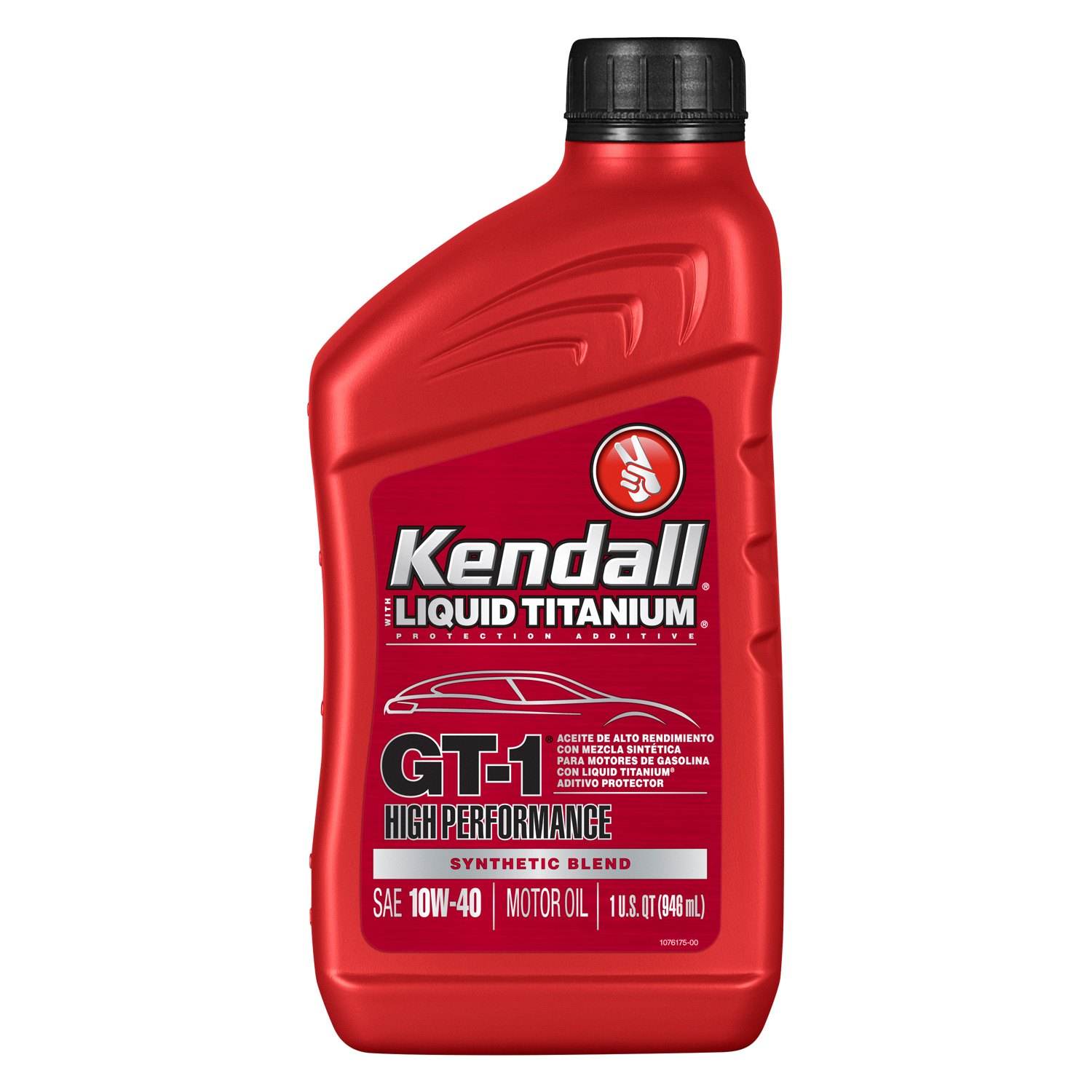 Kendall Gt 1 High Performance Synthetic Blend Motor Oil