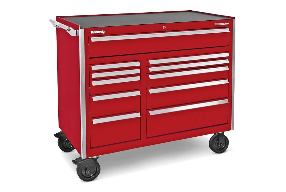 Kennedy tool cabinet review mf cabinets for Sideboard roller
