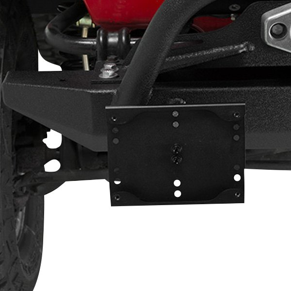Shackle Mounted License Plate Holder for Jeep Wrangler YJ TJ JK  Kentrol 80706